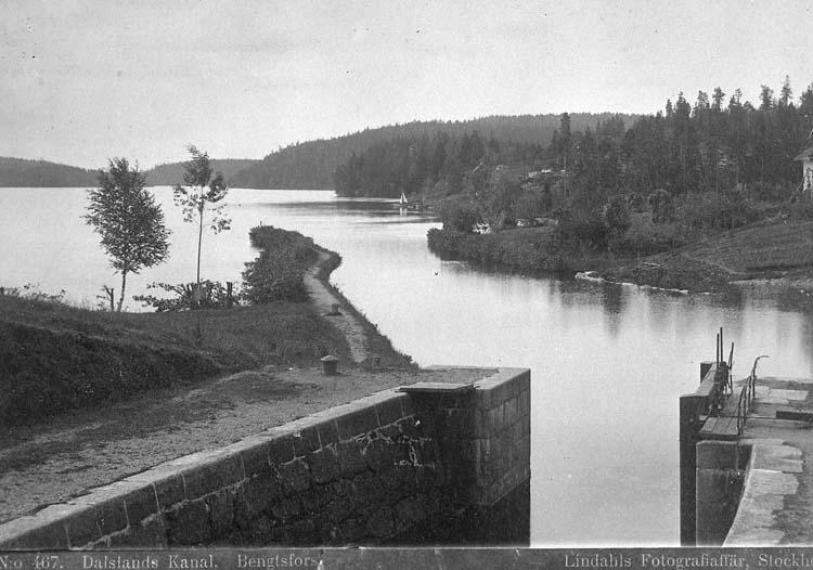 Dalslands Kanal. Bengtsfors.