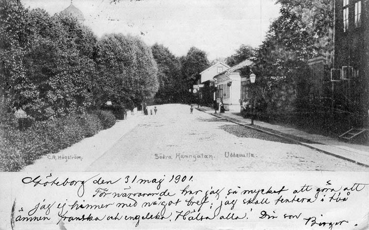 Södra Hamngatan. Uddevalla. C. R. Högström