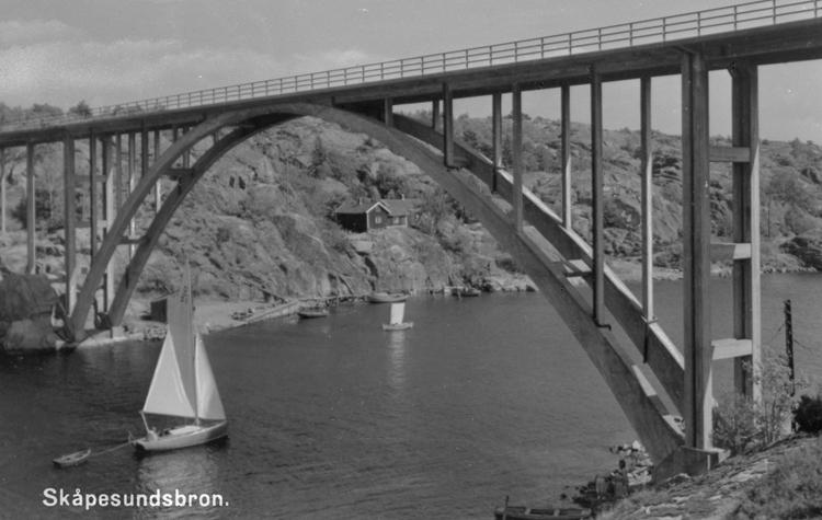 "Bildtext: ""Skåpesundsbron"""
