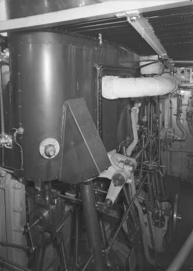 Interiör från maskinrum på fartyg 116-119, troligen från 116 S/S Vorkuta PT 57.