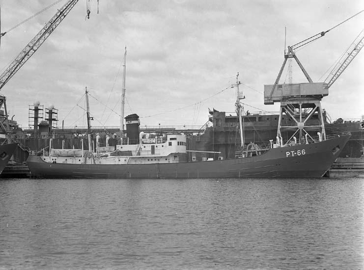 Fartyg 119 S/S Ural PT 66 redo för leverans.