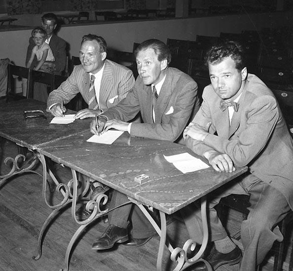 Amatörtävling i Kongresshallen, Folkets Park 1955