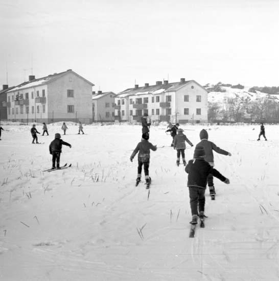 På skidskolan vintern 1959, Uddevalla