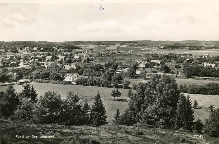 Parti av Stenungsund.