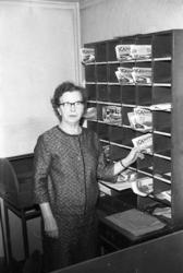 Alvida Olsson, postföreståndare Hovenäset