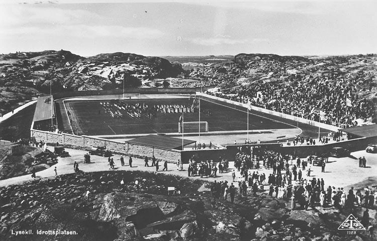 Gullmarsvallen, Lysekil invigningsåret 1934
