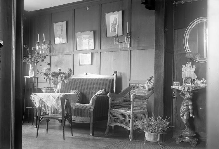 """Enligt fotografens journal 6 1930-1943: """"Pensionat Solgården Här""""."""