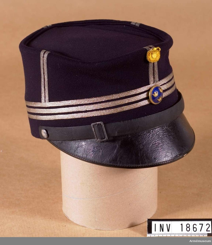 Grupp C I. Ur uniform för kapten vid Göta livgarde.