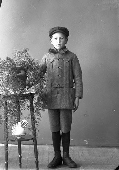 """Enligt fotografens journal nr 4 1918-1922: """"Sten, Arne Här""""."""