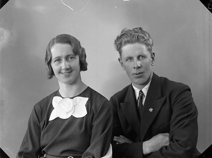 """Enligt fotografens journal nr 6 1930-1943: """"Foss, Herman Solliden Här""""."""