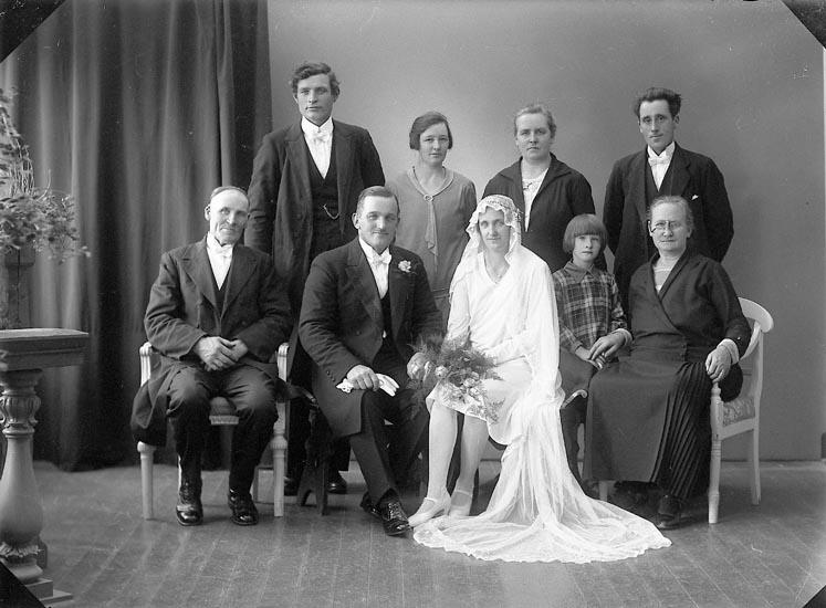 """Enligt fotografens journal nr 6 1930-1943: """"Johansson, Edvard Dal Ucklum""""."""