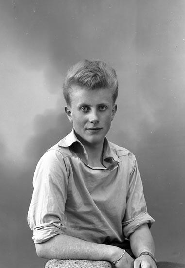 "Enligt fotografens journal nr 8 1951-1957: ""Karlsson, Jan-Erik, Jordhammar, Ödsmål""."