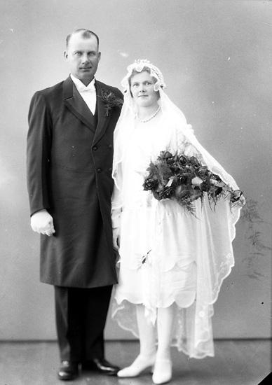 """Enligt fotografens journal nr 5 1923-1929: """"Andersson, Erik Lusseröd Stenungsund""""."""