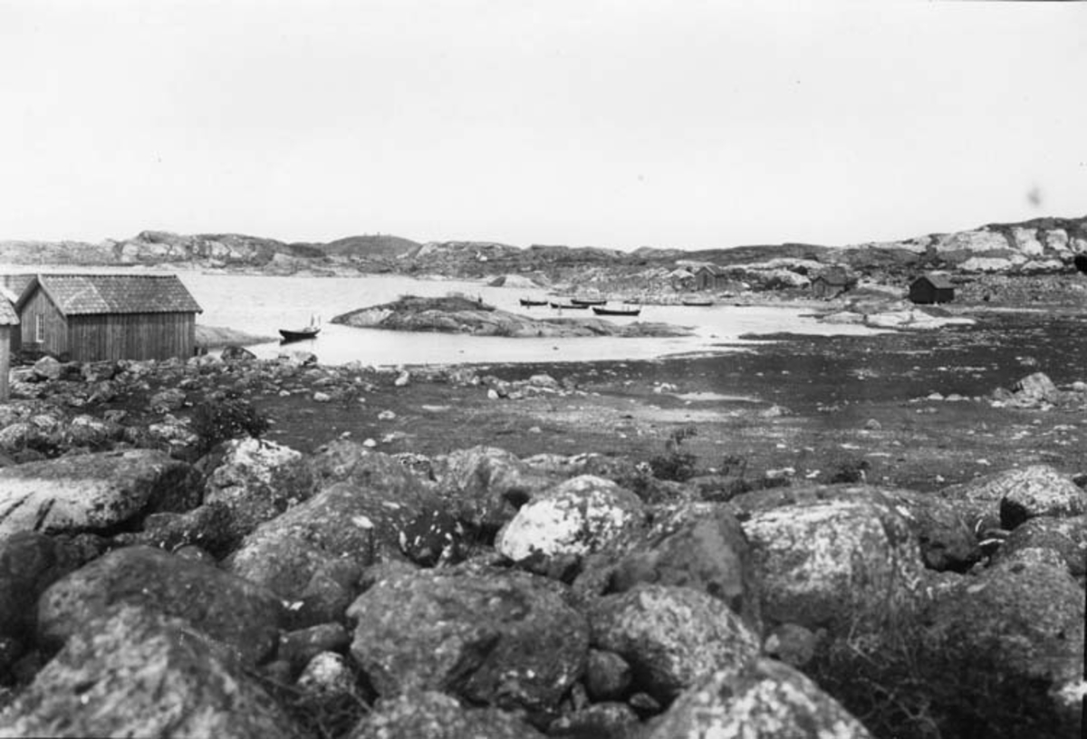 Skrivet på baksidan: Hausnen vid Långevik, Sydkoster