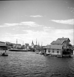 Östra inloppet till Gullholmen