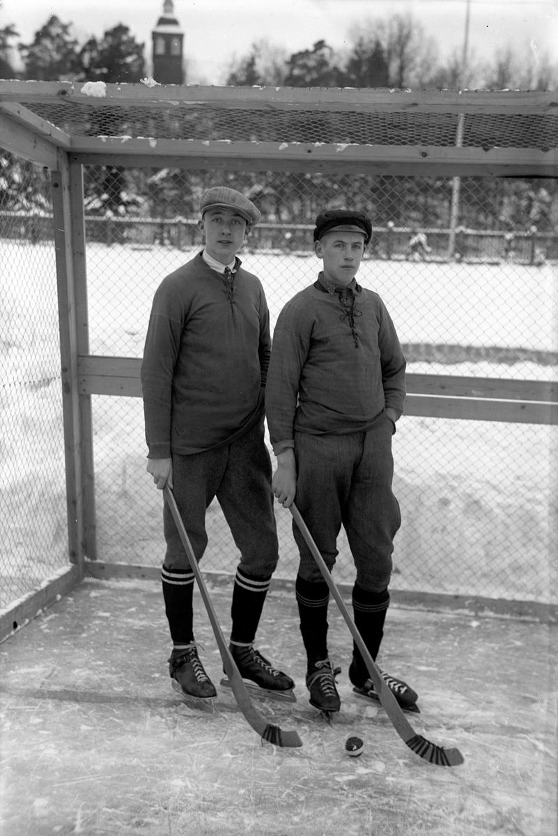 Gruppbild på medlemmar i en idrottsförening i Jönköping.