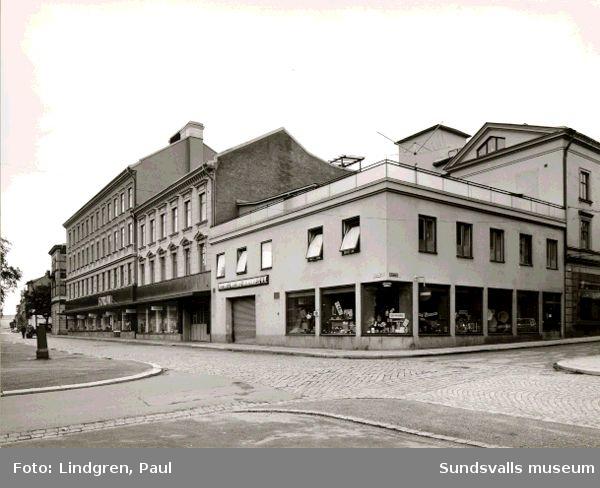 Näslund & Wiklunds Järnhandel AB. Hälsan 1, Sjögatan 19.