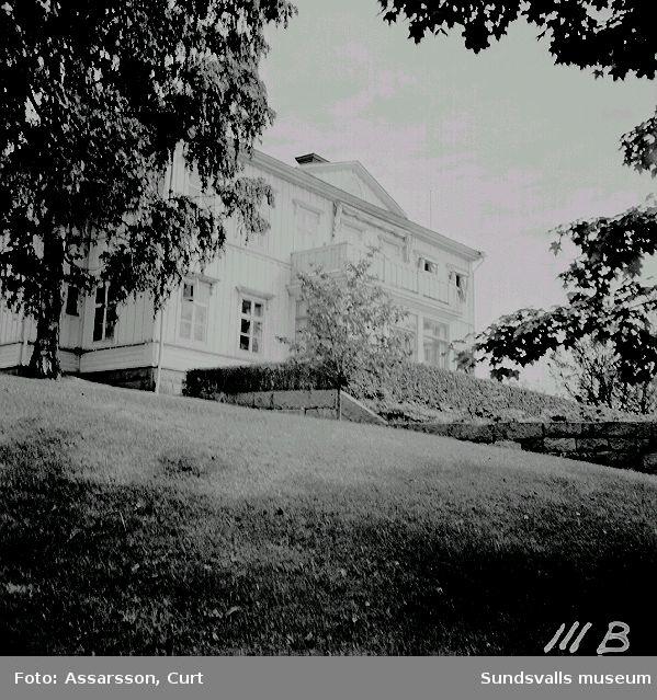 Söråkers trädgårdskola, huvudbyggnad.