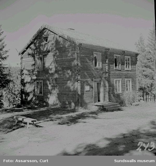 Söderbergsgården, Huberget.