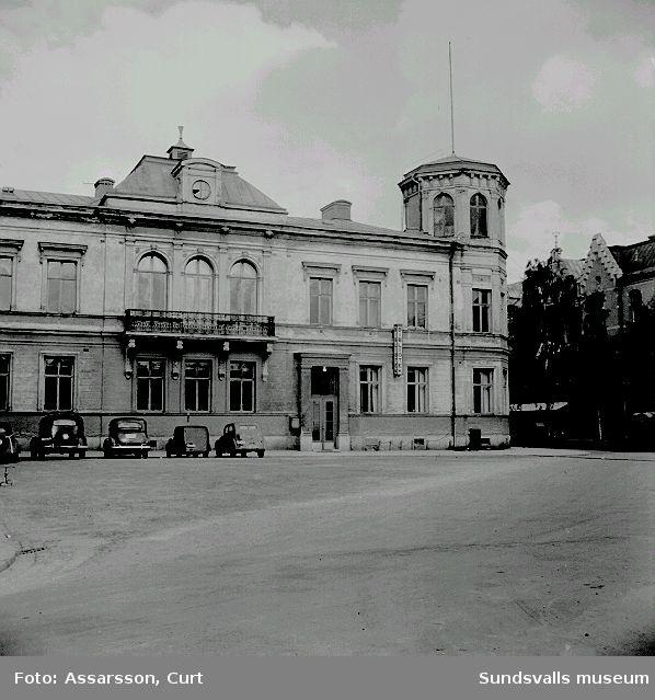 Stadsbiblioteket (W:6-huset) på Köpmang. 15 vid Nytorget.