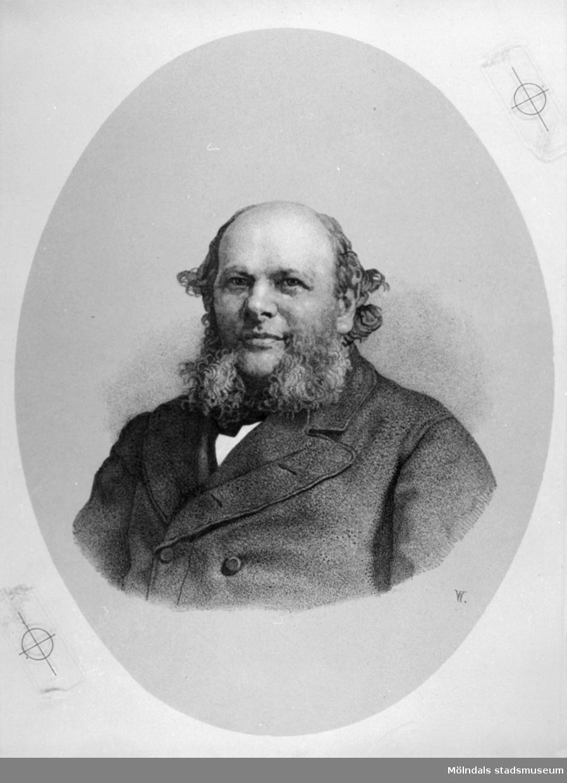 Porträtt av David Otto Francke.