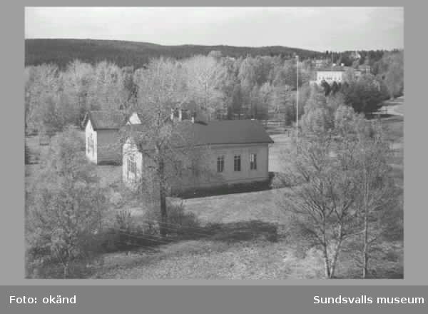 Huvudkontoret Vivstavarv, arbetarebostäder, brandstationen i Vivstavarv