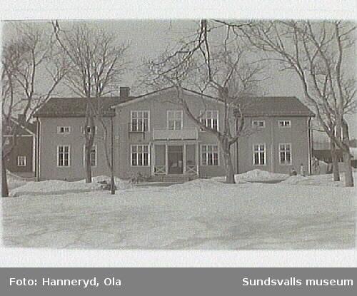 Kulturmiljöinventering i Sättna sn. Vallens skola.