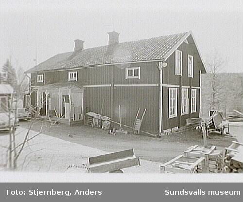 F. d. Rudeskolan. Byggnadsinventering.