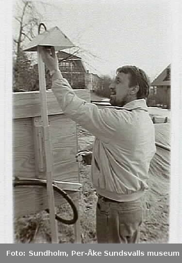 Dokumentation av aluminiumsmältverket GA Metall AB. Samtidig dokumentation med Tekniska museet, Stockholm.