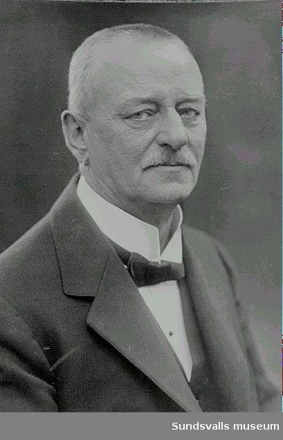 Herman Wahlroth,Ägare av Sundsvalls tidning fr 1912 delägare fr 1916