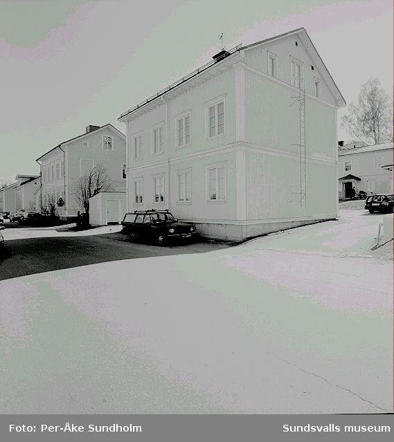 Flerbostadshus, kv. Almen 2 och 3, Nygatan 19 och 17.