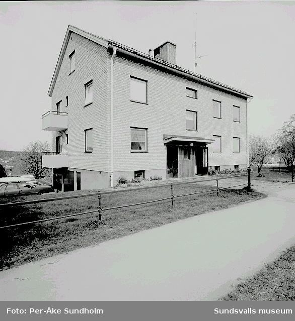 Flerbostadshus, kv. Asken 15, Södra Allén 6 - 8.