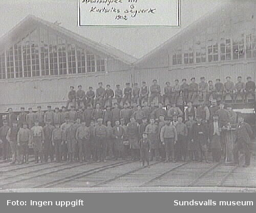 Karlsviks sågverk 1902.