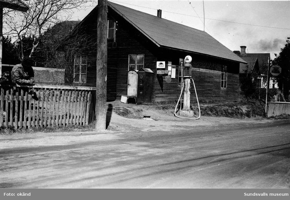 BP-stationen Kvissleby, Njurunda.