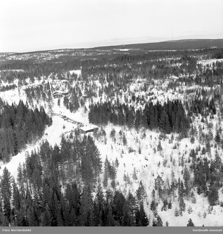 Flygfoton över Skönviksbacken.