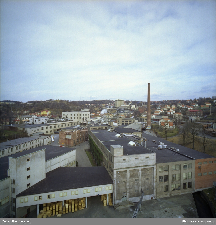 Papyrus fabriksområde i Mölndal.