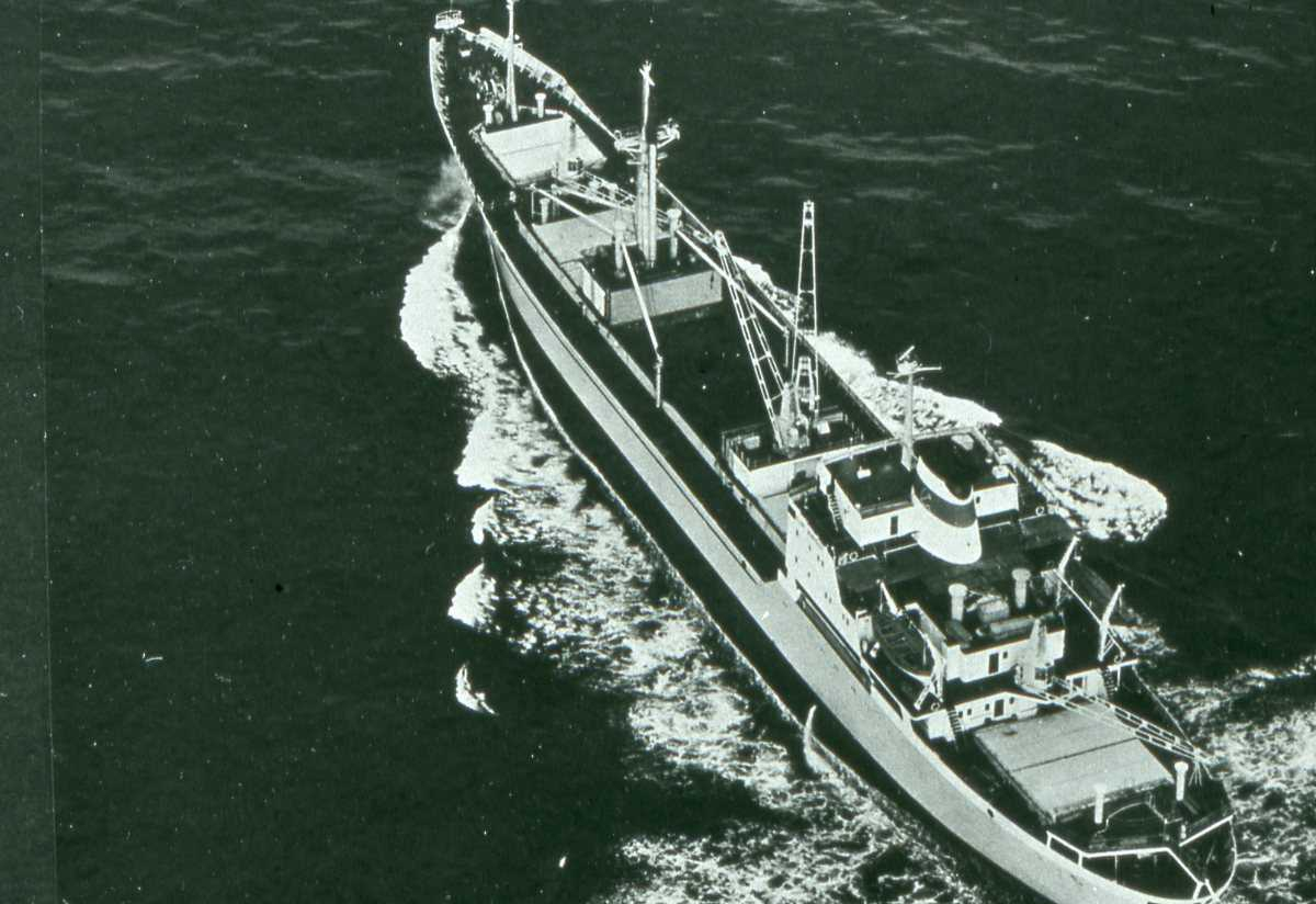 Russisk fartøy av Krasnograd - klassen.
