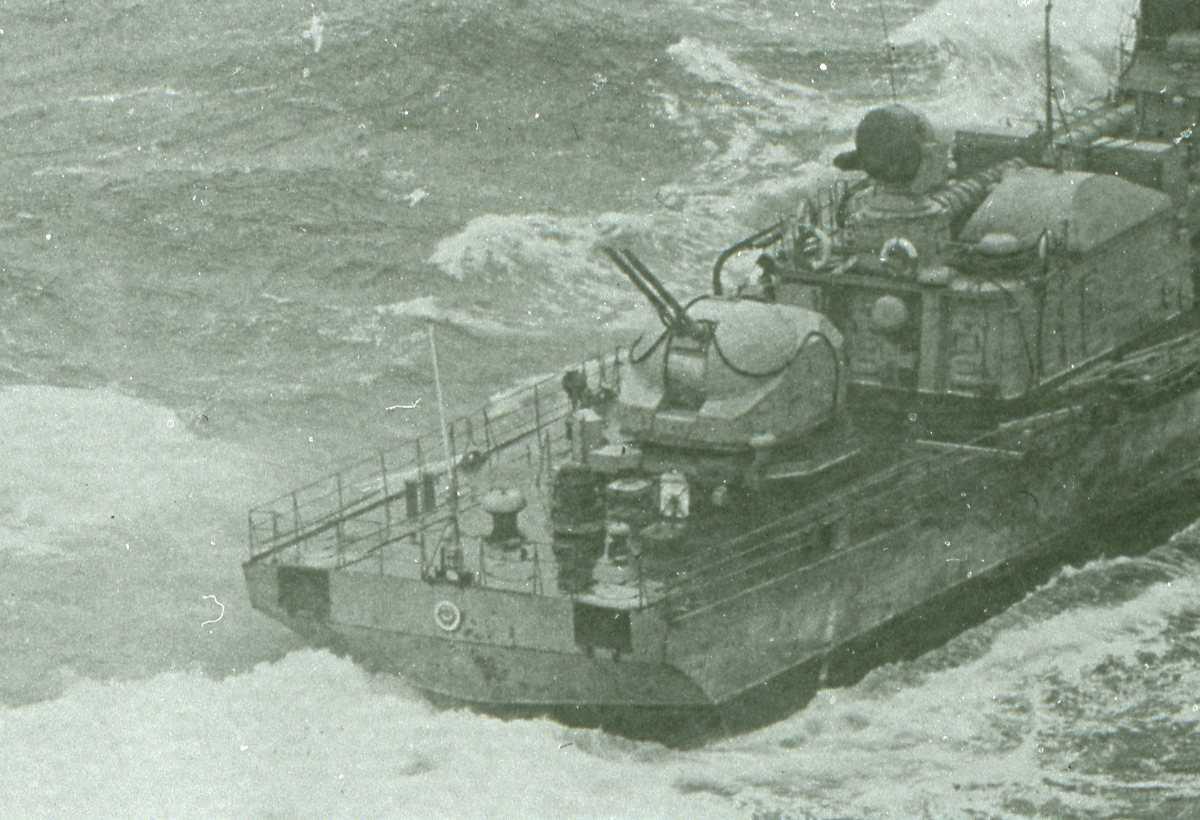 Russisk fartøy av Grisha - klassen.