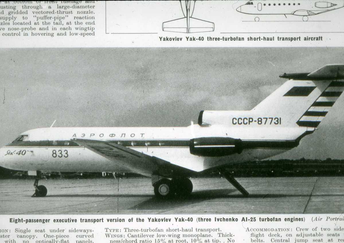 Russisk fly av typen Codling.