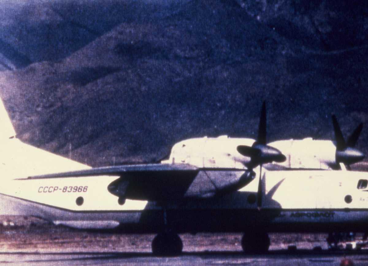 Russisk fly av typen Cline.