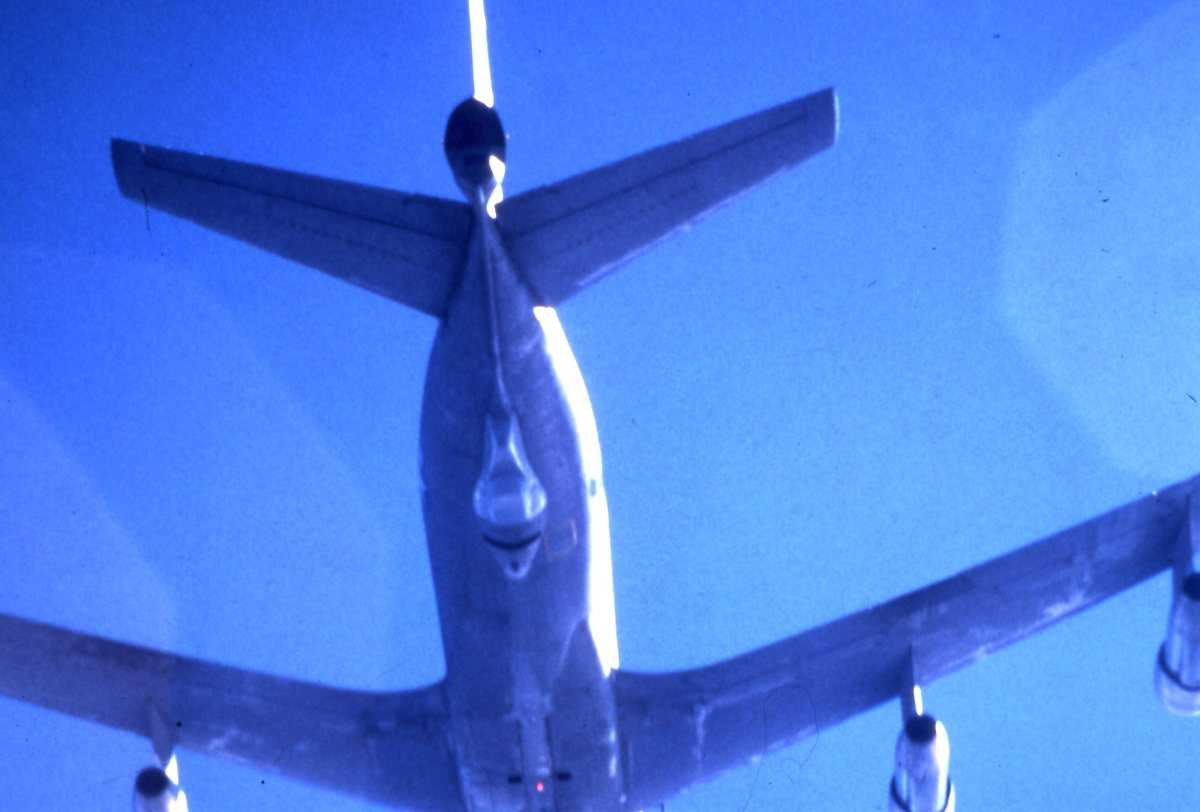 Amerikansk fly av typen EC-135.