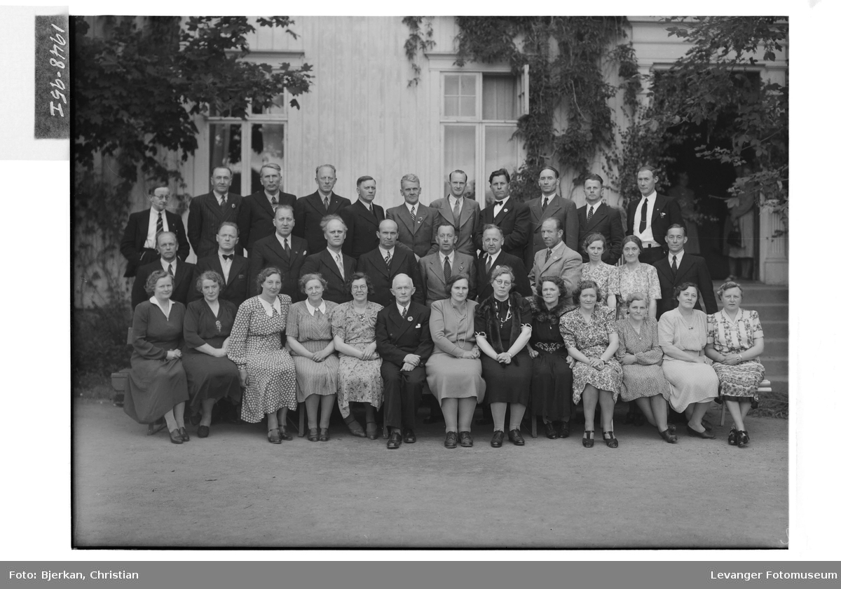 Levanger Lærerskole, 25 års jubilanter, 1948