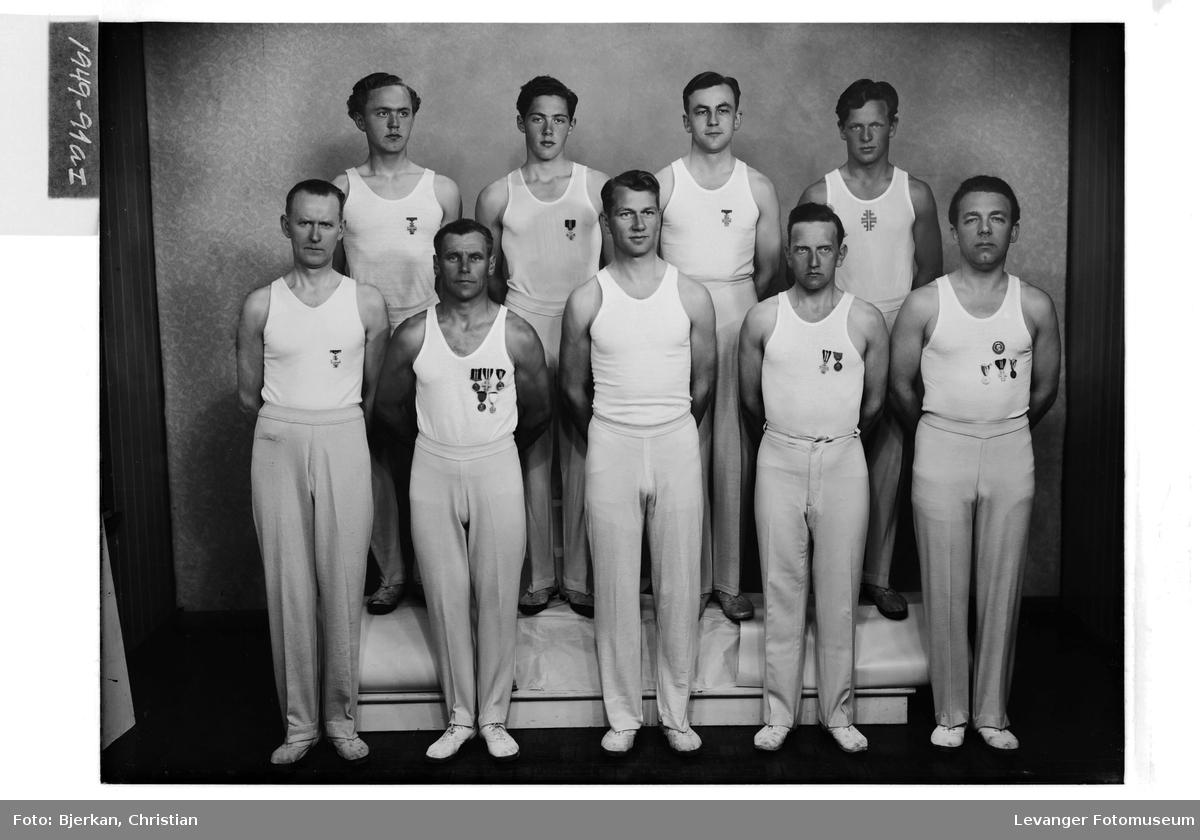 "Herreturnere i Idrettslaget ""Sverre"", 1949"