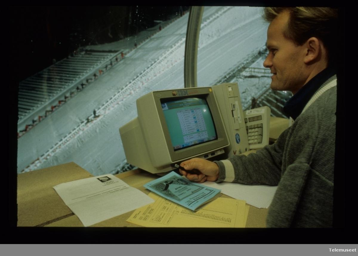 25.0 IBM - Lillehammer 1994 - lysbilde