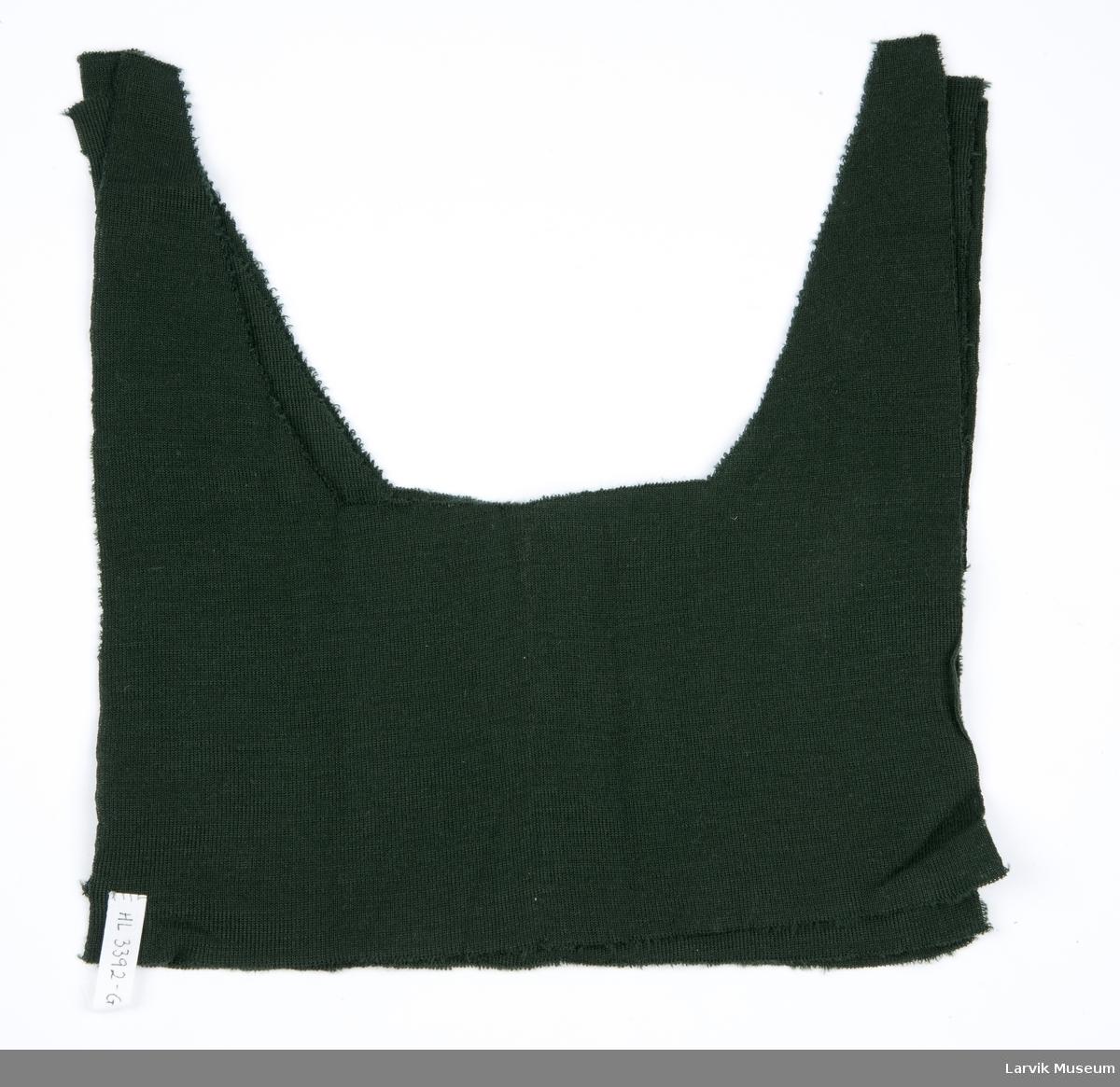 3 stk. bærestykker med halsåpning