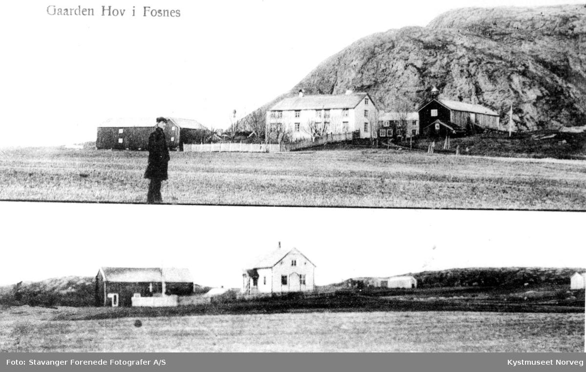 """Fosnes kommune, bilder fra gården """"Hov"""""""