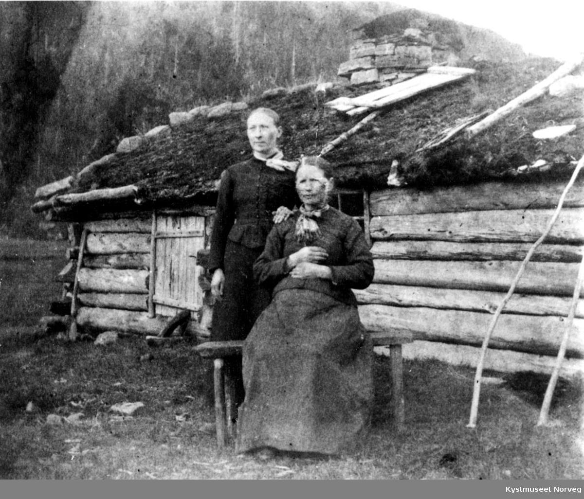 Seterskjulet på Steingrimseteren.