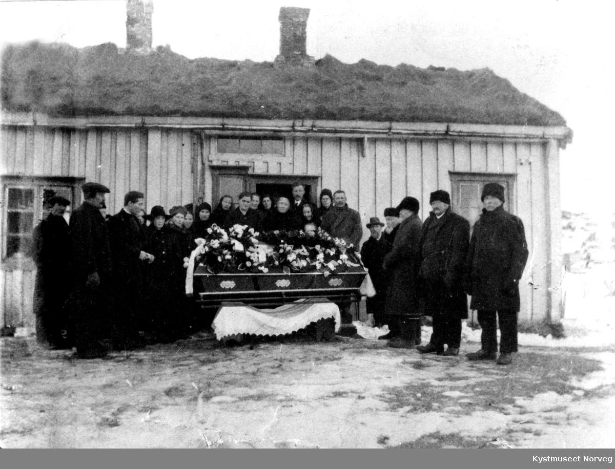 Begravelse.