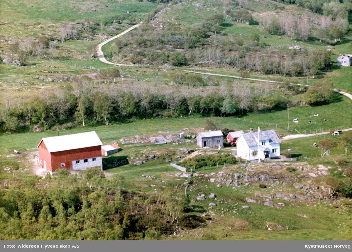 Flyfoto fra Sæternes ytre Vikna.