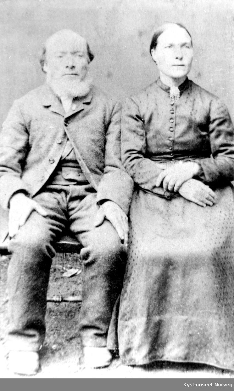 Ekteparet? Abel Møinichen og Ellen Hansdatter Lomann